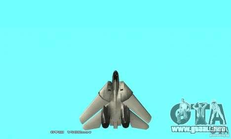 F14W Super Weirdest Tomcat Skin 2 para la vista superior GTA San Andreas