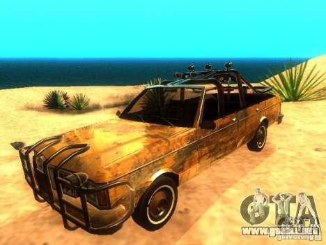 Regina War para GTA San Andreas