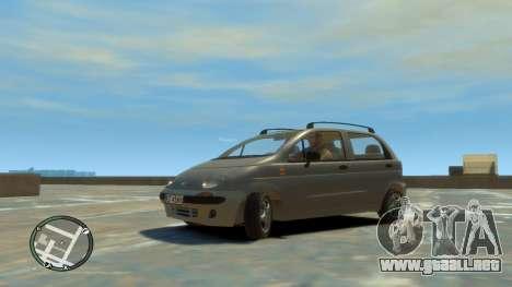 Daewoo Matiz Style 2000 para GTA 4 visión correcta