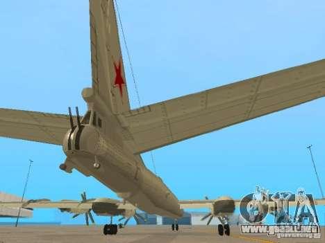 Tu-95 para visión interna GTA San Andreas