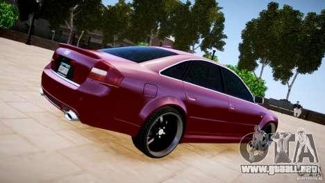 Audi RS6 para GTA 4 left
