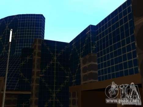 Edificio nuevo en LS para GTA San Andreas segunda pantalla