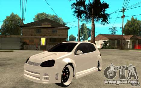 VW Golf 5 GTI Tuning para GTA San Andreas