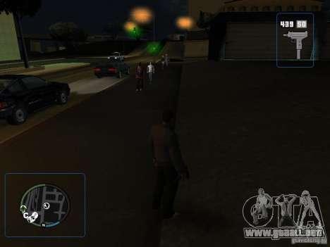 HUD y las armas de GTA IV para GTA San Andreas tercera pantalla