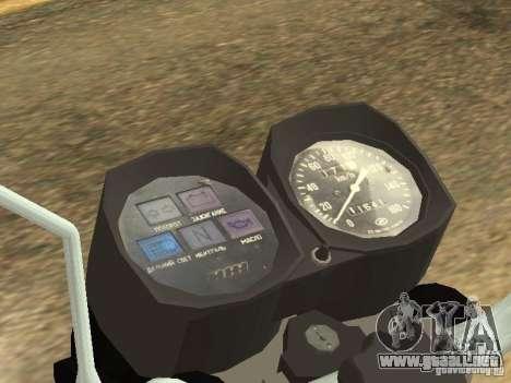 IZH Planeta -5 para la visión correcta GTA San Andreas