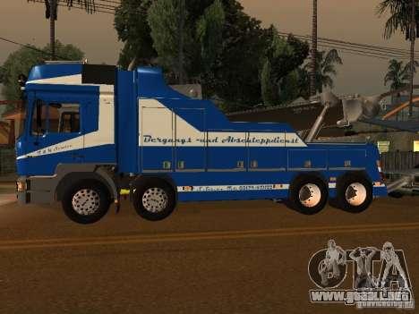 MAN F2000 (con guión de CLEO) para GTA San Andreas left
