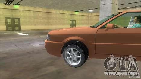 Audi S2 para GTA Vice City visión correcta