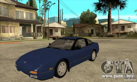 Nissan 240sx - Stock para GTA San Andreas