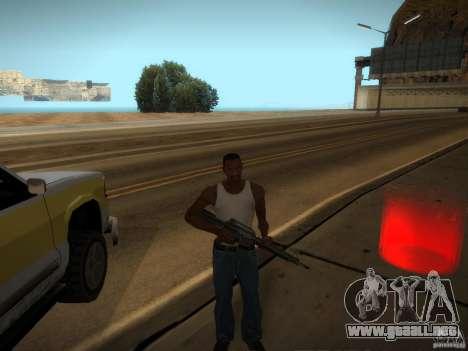 Luxville-mapa de Point Blank para GTA San Andreas segunda pantalla