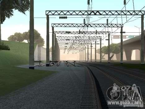 Red de contactos para GTA San Andreas octavo de pantalla