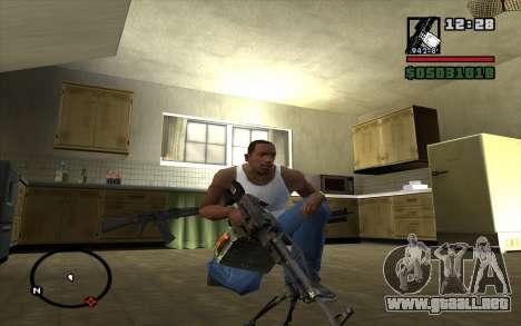 Pechenegos PKP ametralladora para GTA San Andreas