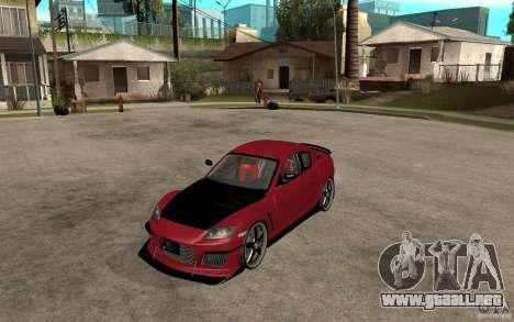 Mazda RX-8 Time Attack JDM para GTA San Andreas