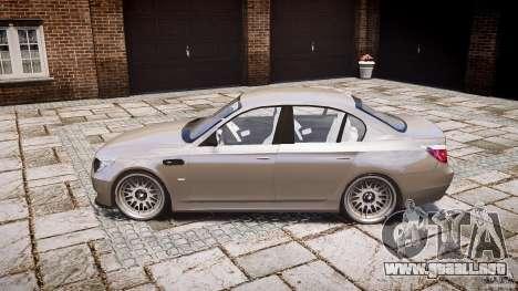 BMW E60 M5 2006 para GTA 4 left