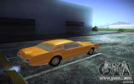 Lincoln Continental Mark IV 1972 para la visión correcta GTA San Andreas