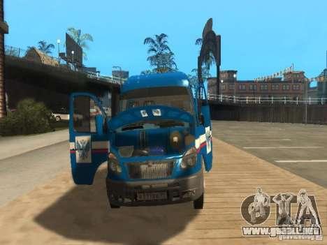 Correo 2705 gacela de Rusia para visión interna GTA San Andreas