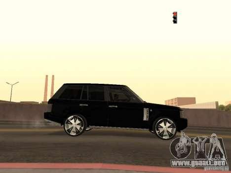 Luxury Wheels Pack para GTA San Andreas quinta pantalla