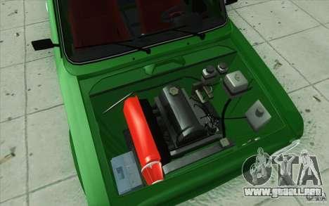 Deporte Lada VAZ-2101 para vista inferior GTA San Andreas