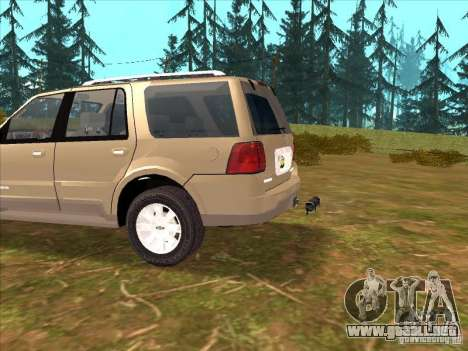 Lincoln Navigator para visión interna GTA San Andreas
