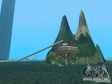 Isla (mes en el agua) para GTA San Andreas