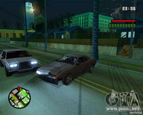New Windows Crashes para GTA San Andreas segunda pantalla