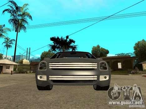 Ford Fusion 2008 Dub para la visión correcta GTA San Andreas