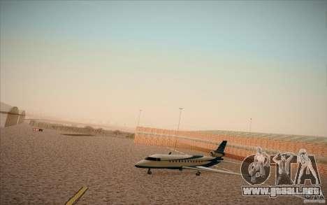 New San Fierro Airport v1.0 para GTA San Andreas tercera pantalla