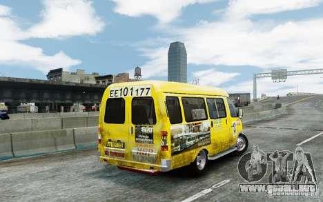 Gacela 2705 Taxi v 2.0 para GTA 4 visión correcta