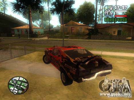 Hoja de FlatOut para la visión correcta GTA San Andreas