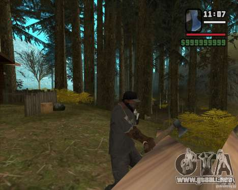 Casa Hunter v3.0 Final para GTA San Andreas quinta pantalla