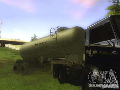 Cemento remolque TC-12 para la visión correcta GTA San Andreas