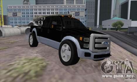 FORD F450 SUPER DUTE para GTA San Andreas