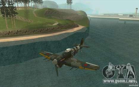 Hawker Typhoon para GTA San Andreas