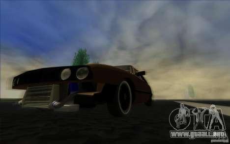 BMW E30 2.7T para visión interna GTA San Andreas