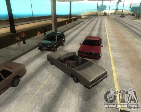 MOD de Jyrki para GTA San Andreas octavo de pantalla