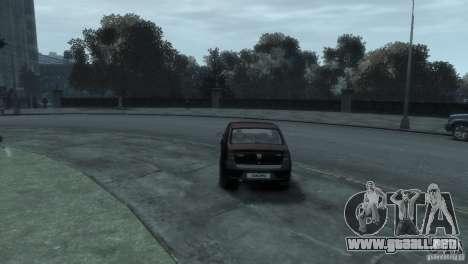 RENAULT LOGAN para GTA 4 visión correcta