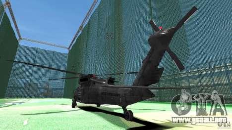 Sikorsky UH-60 Black Hawk para GTA 4 visión correcta