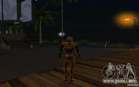 Cyrax 2 de Mortal kombat 9 para GTA San Andreas tercera pantalla