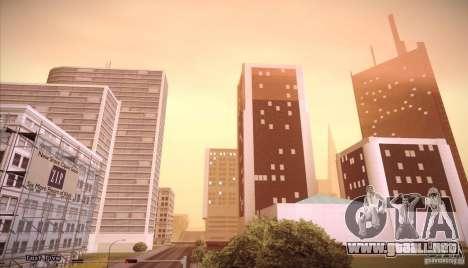 Enb Series v5.0 Final para GTA San Andreas sucesivamente de pantalla