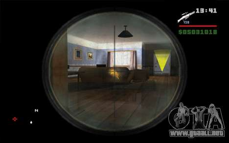 Mosin Sniper Rifle para GTA San Andreas tercera pantalla