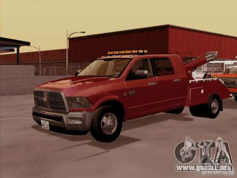 Dodge Ram 3500 TowTruck 2010 para GTA San Andreas