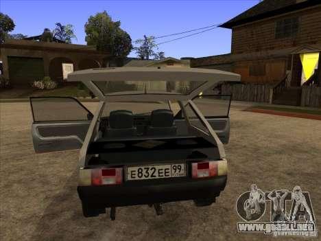 ZAZ Tavria 1102 para la visión correcta GTA San Andreas