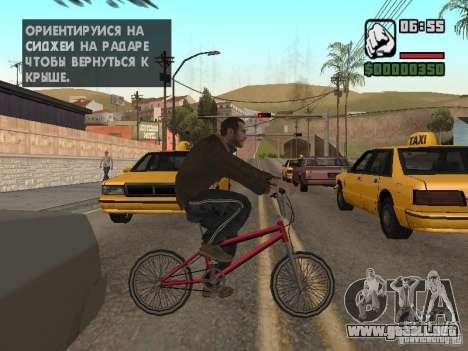 Niko Bellic para GTA San Andreas novena de pantalla