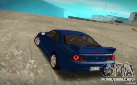 Nissan Skyline R33 GT-R V-Spec para GTA San Andreas left