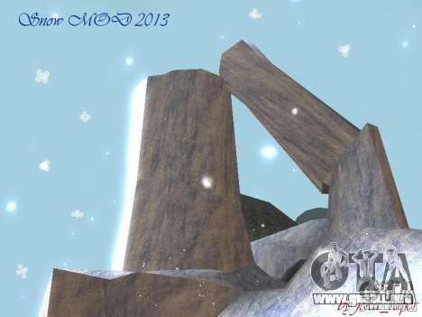 Snow MOD HQ V2.0 para GTA San Andreas