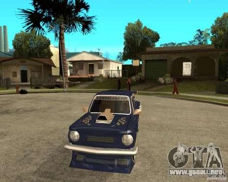 ZAZ-968 m STREET melodía para GTA San Andreas vista hacia atrás