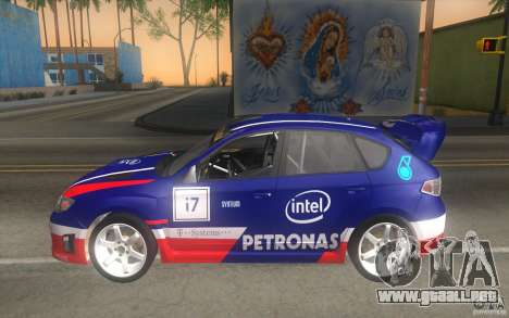 Nuevos vinilos para Subaru Impreza WRX STi para la vista superior GTA San Andreas