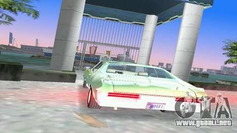 Pontiac GTO The Judge 1969 para GTA Vice City vista lateral izquierdo