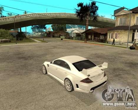 MERCEDES CLS 63 AMG TUNING para GTA San Andreas left