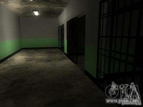 La entrada a la zona de la policía en San Fierro para GTA San Andreas séptima pantalla