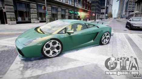 Lamborghini Gallardo para GTA 4 left